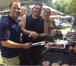 Jeff Sober and Andrea Odegard-Begay take over Basilio Chavez's grill to cook their losing meatballs.